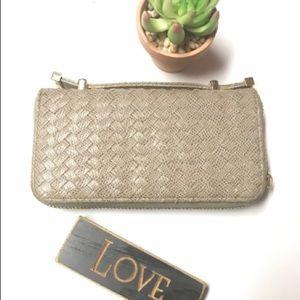 Deux Lux Tan Wallet {Final Price}